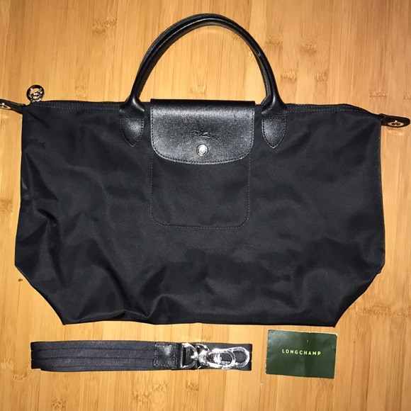 7e232aace Longchamp Bags | Medium Le Pliage Neo Nylon Top Handle Tote | Poshmark
